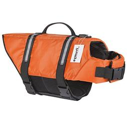 Prumya Dog Life Jacket Pet Life Vest Saver Swimming Boating