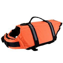 Mogoko Dog Life Jacket Swimming Vest, Muti-Size Pet Life Pre