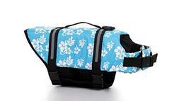 GabeFish Dog Life Jacket Vest Safety Clothes Collar Harness