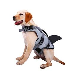 Dog Life Jackets, Ripstop Pet Floatation Life Vest for Small