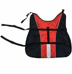 Flowt Dog Life Vest 40902-2-XL Dog Life Vest, PFD, Red, Extr