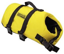 Seachoice Dog Life Vest Yellow XXS 86300