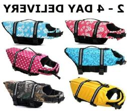 Dog Pet Saver Life Jacket Vest Reflective Strip sz XXS, XS,