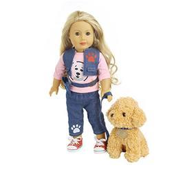 Doll Clothes,OUBAO 2PCS Doll Clothes Jeans Clothes & Pants C