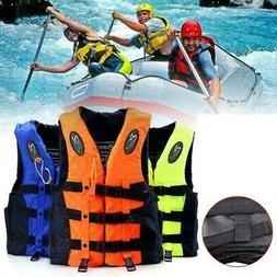 Drifting Boating Buoyancy Aid Sail Kayaking Life Jacket Adul