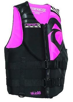 O'Brien Empress Women's Neoprene Life Jacket, Pink, X-Small
