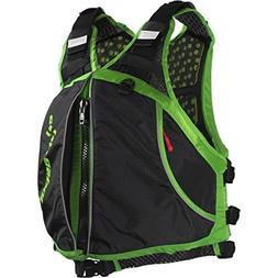 Extrasport Men s Evolve Life Jacket Apple Green Black Large