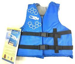 EXXEL Kids Life Jacket Preserver PFD Flotation Vest Type III