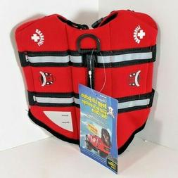 Fido Pet Products Paws Aboard Neoprene Doggy Life Jacket, X-