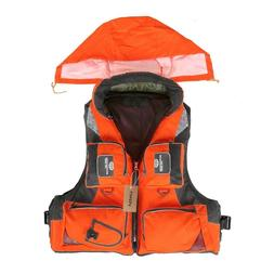 Fishing Life Jacket Drifting Safety Vests Suit Outdoor Sport