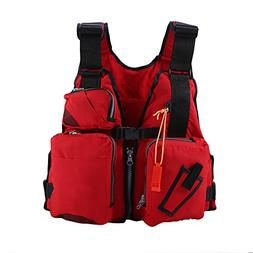 Fishing Life Jackets Life Vests for Adults Men Buoyancy Aid