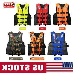 Fishing Life Jackets Water Sport Flotation Vest Boating Buoy