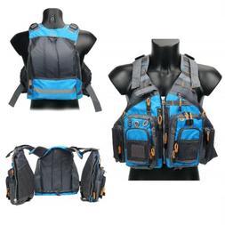Fishing Safety Life Jacket Fly Fishing Vest Breath Polyester