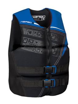 O'Brien Men's Flex V-Back Neo Life Vest, X-Small, Blue