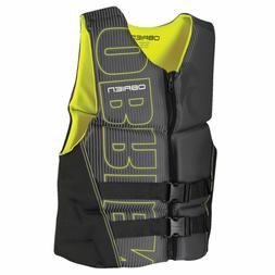 O'Brien Men's Flex V-Back Neoprene Life Vest, Yellow, XX-Lar