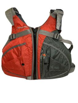 Orange Stohlquist FLO Womens High-Back Life Jacket PFD - PLU