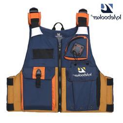 Kylebooker New Outdoor Fly Fishing Vest Kayak Fishing Life J