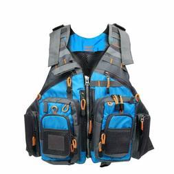 Fly Fishing Vest Universal Adult Size Life Jacket Breathable