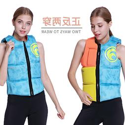 Folding rescue vest drifting surfing portable <font><b>large