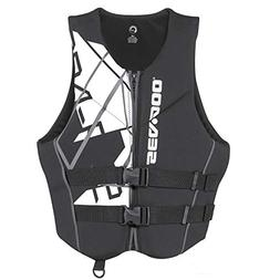 Sea-Doo Men's Freedom PFD - Black - XL