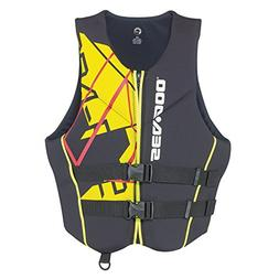 NEW SEA-DOO Freedom PFD Men's Size XL Life Vest 2858641210 B