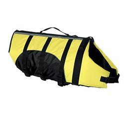 "Guardian Gear Aquatic Preserver for Dogs, 24"" XL, Yellow"
