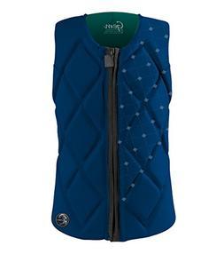 O'Neill Women's Gem Comp Life Vest, Deep-Sea/AquaHaze, 12