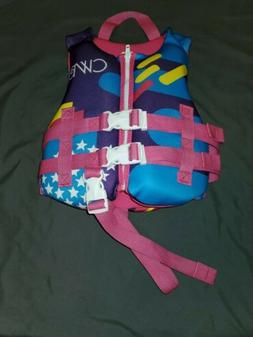 Connelly Girls Child Classic Life Jacket 30 to 50 pounds USC