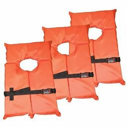 hardcore type ii orange life jacket vest
