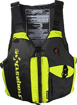 EXTRASPORT Hi-Vis/Black Elevate Life Jacket PFD - 3436