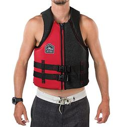 Liquid Force Hinge Classic Adult Life Vest 2018 - Large