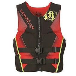 Full Throttle Men's Hinged Rapid-Dry Flex-Back Life Vest, La