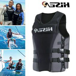 hisea professional neoprene life jacket vest swimming