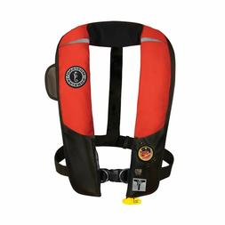 Mustang HIT Inflatable Automatic PFD w/Harness - Red/Black