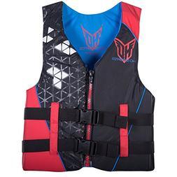 Hyperlite HO Sports Mens Infinite Red Life Vest , Large