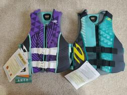 Stearns Hydroprene Boating Life Vest Jacket youth large/adul