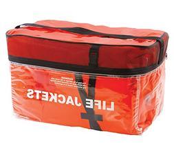 Type II Keyhole, Adult, Orange, 4/Clear Storage Bag