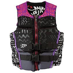 Hyperlite Indy Womens Pink Life Jacket - X-LARGE