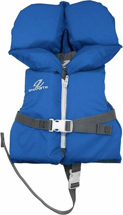 Stearns Infant Coast Guard Approved Blue Life Jacket Vest le