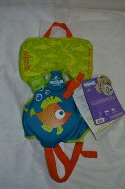 Stearns Infant Green and Blue Fish Puddle Jumper Life Jacket