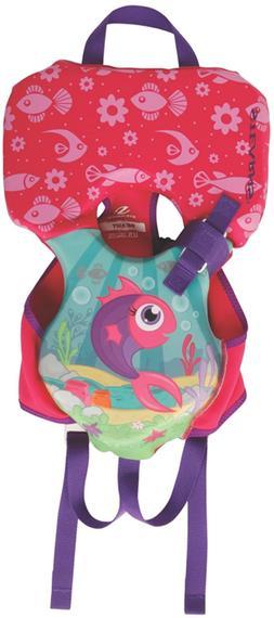 Stearns Infant Puddle Jumper Hydroprene Fish Print Life Jack