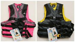 STEARNS INFINITY SERIES BOATING VEST LIFE JACKET 2XL/3XL PIN