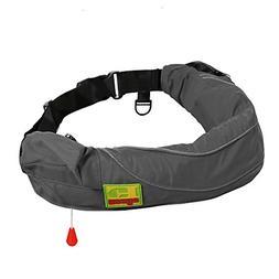 Eyson Inflatable Life Jacket Life Vest Life Ring Belt Pack W