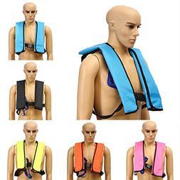 Inflatable Life Vest,CAMTOA Manual Inflatable PFD Life Jacke