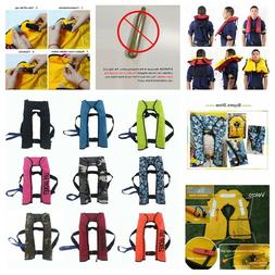 Inflatable Swimming Life Jacket Unisex Adult Automatic Vest