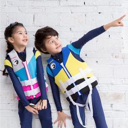 Hisea Juvenile Kids <font><b>Life</b></font> Vest Neoprene F