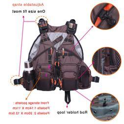 Kayak Fishing Life Jacket USCG Type iii PFD Fit Universal Ov