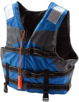 Kids Adjustable Life Jacket Swiming Life Vest Kayak Canoe Bo