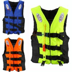 Kids Adult Universal Life Jacket Sailing Boating Preserver S