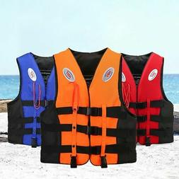 Kids Life Jacket Vest Whistle WaterSports Swimming Aid Boat